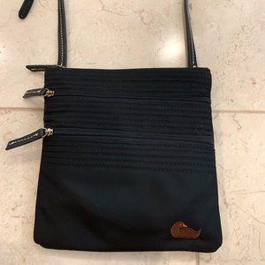 Dooney & Bourke Triple Zip Crossbody Bag